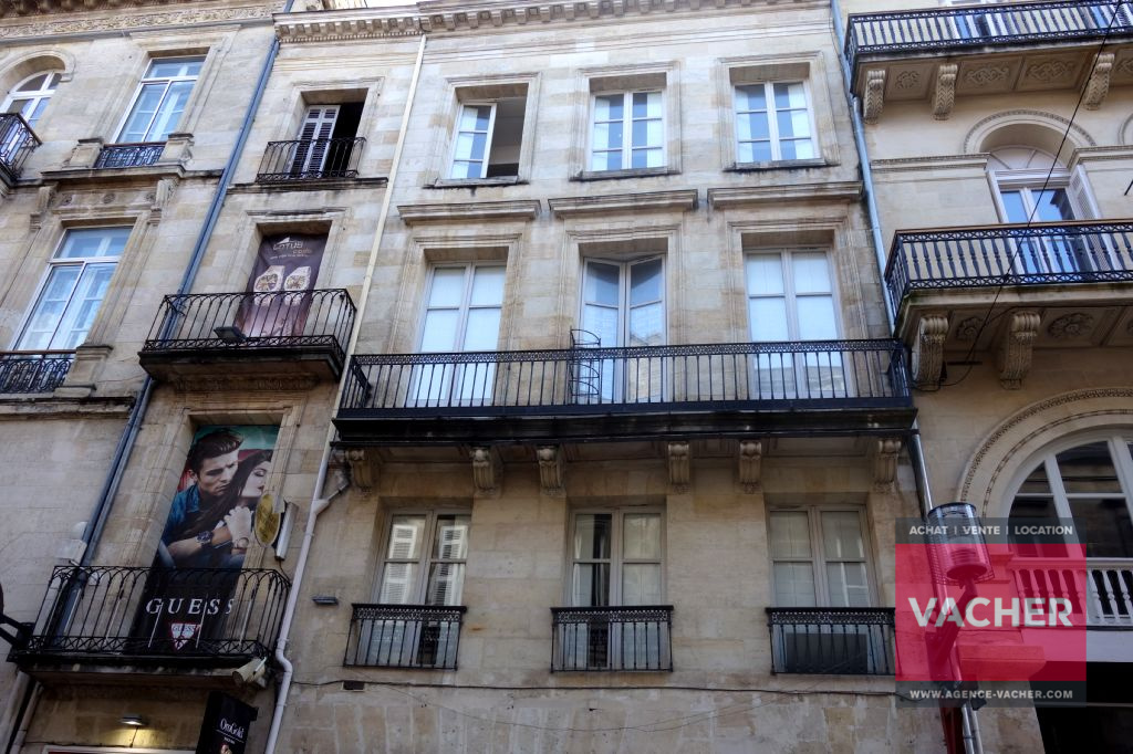Annonce vente appartement bordeaux 33000 81 m 388 for Appartement bordeaux quartier saint pierre